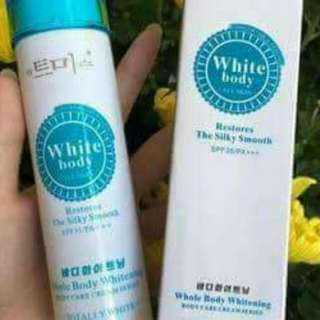 Body white lotion