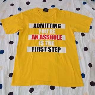 Printed Yellow Shirt