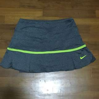 BN Grey & Lime Green Nike Tennis/Golf Skirt