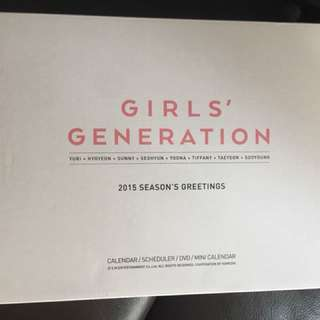 少女時代SNSD 2015 season greeting