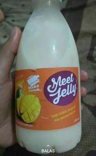 Meet jelly, minuman yg menyegarkan tanpa pemanis buatan enak rasax