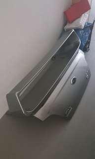 Subaru Impreza Wrx High mount spoiler and boot