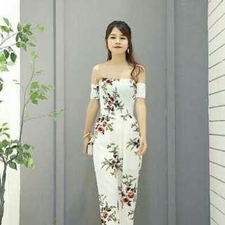 Summer Floral Jumpsuit
