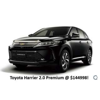 Toyota Harrier 2.0 Premium