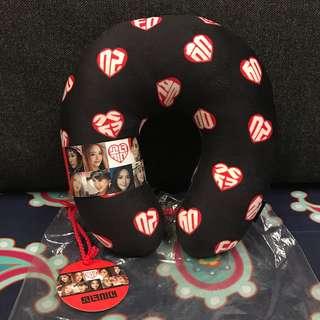 Girls' Generation (SNSD) Official Merchandise Travel Pillow