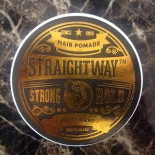Straightway Gold Strong Hold Pomade