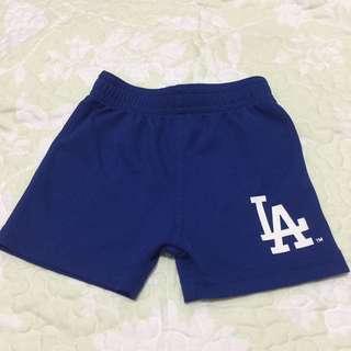 L.A. team athletics shorts ( 0-3 months)