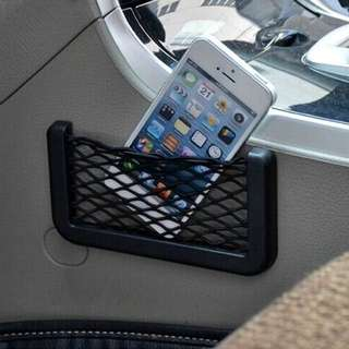 14.5x8.5cm universal net storage for cars etc. Phone storage holder