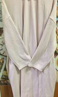 Korean Brand Long Pink Cardigan