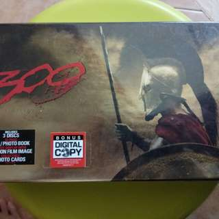 300 dvd limited collector's edition