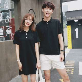 Couple Wear Women's Polo Dress Men's PoloTee