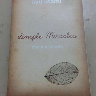 Simple Miracles by Ayu Utami