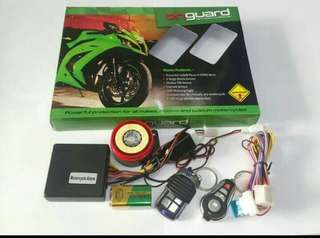 Alarma motor on Guard anti maling