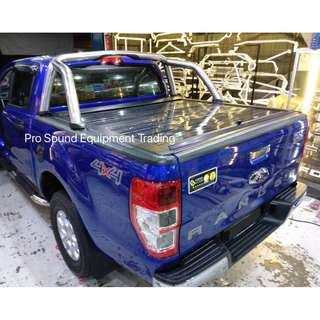 Ford Ranger Roller Up Roller Shutter (Silver Colour)