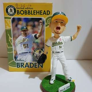 Bobblehead Dallas Braden