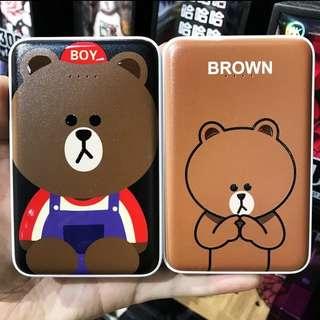 Line布朗熊&可妮兔12000mAh