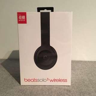 Brand New Beats Solo3 Wireless Headphones