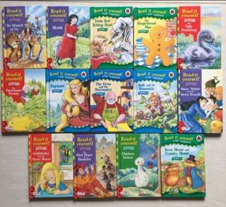 Set of 14 Labybird Read with me