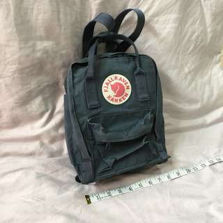 Fjallraven Kanken Mini Backpack Navy Colour