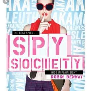 Spy Society by Robin Benway