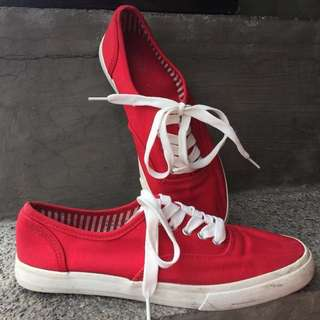 Red Forever 21 Shoes