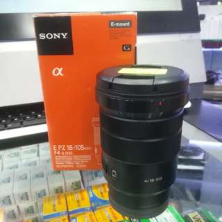 SONY 18-105MM F4 PZ G OSS E MOUNT