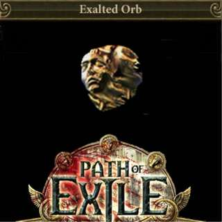 Path of Exile Bestiary League Exalted Orbs