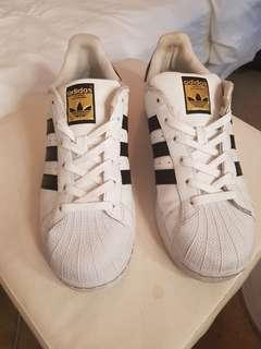 Adidas Superstars White Black