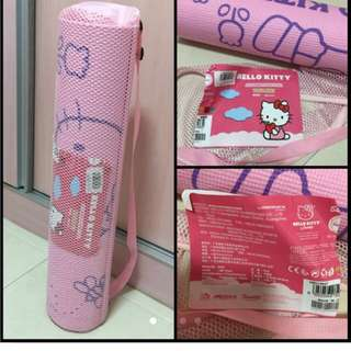 Hello Kitty Yoga Mat