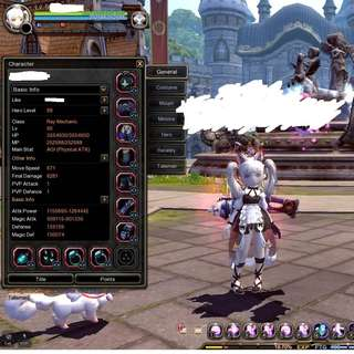 Dragon Nest Sea Top Geared account for Sale (2 in 1!) (Sales ending on 23/3/2018)(Gears constantly updated daily until sold)