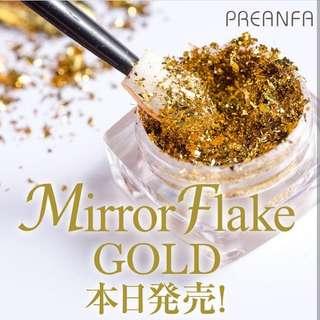 Pregel Mirror Flake (Gold)