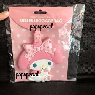 My Melody Rubber Luggage Name Tag