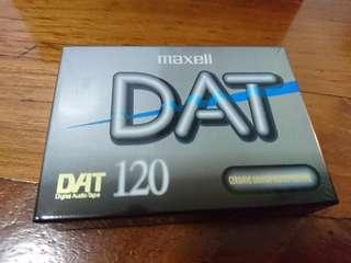 Maxell DAT 120 Digital Audio Tape  Ceramic Armor Metal Particle