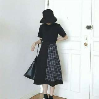 black skirt new
