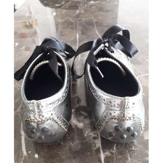 AUTHENTIC TOD'S Junior shoes in Leather..Silver colour