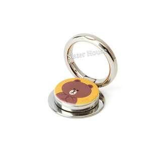 (包郵)🇰🇷LINE Friends Brown O-ring 熊大手機扣