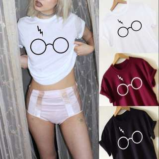 Good quality Harry Potter iconography graphic tee