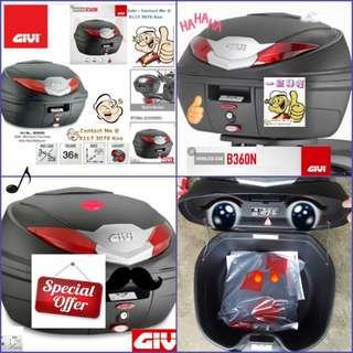 0308---GIVI BOX B360n Ref Reflection For Sale !!!Brand New (YAMAHA, Honda, SUZUKI, ETC)