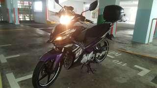Yamaha Jupiter MX135 @ $8100 COE Jan 2024