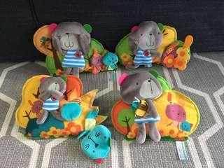 Bobbi & friends decorative felt display or baby cot decorations