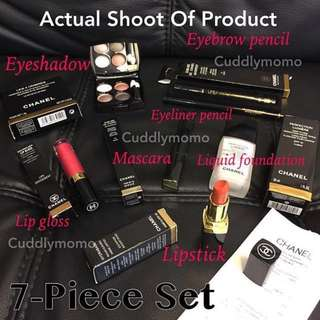 Eyeshadow Foundation Eyeliner Mascara Lipgloss Eyebrow Pencil