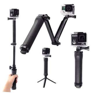 3 Way Monopod for Action Camera