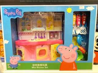 正版 Peppa Pig 迷你坐枱廚房 Mini Kitchen Set