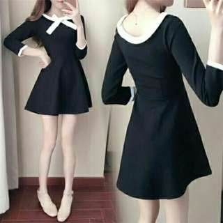 PP DRESS AGNES HITAM
