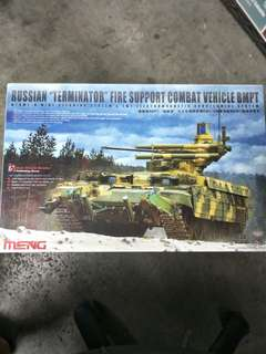 """SALE! 1/35 RUSSIAN """"Terminator"""" Fire Support Combat Vehicle BMPT Model Kit"""
