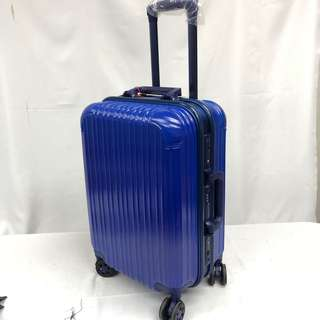 Brand New Cabin Size Aluminium Frame Luggage with Number Lock