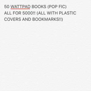 POP FIC BUNDLE!