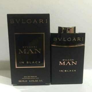 AUTHENTIC BULGARI MAN IN BLACK EAU DE TOILETTE 100ml