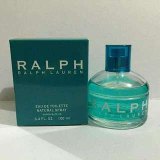 AUTHENTIC RALPH LAUREN EAU DE TOILETTE NATURAL SPRAY FOR WOMEN 100ml