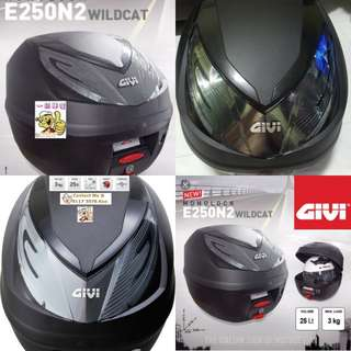 0803**----GIVI Box [E250 n2] Brand New, for Sale **** (YAMAHA JUPITER,SPARK, HONDA, SUZUKI, ETC)
